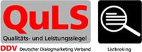 Logos des Deutscher Dialogmarketing Verband und Listbroking